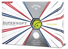 Callaway Supersoft Yellow 2019 Golfbälle