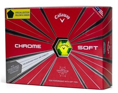 Callaway Chrome Soft Truvis Yellow/Green Golfbälle