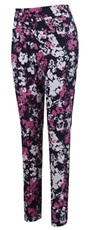 Callaway Floral Printed Pull On Damen Hose