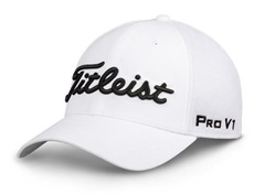 Titleist Tour Sports Mesh cap 2019, white/black