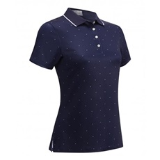 Callaway All Over Chevron Damen Poloshirt, dunkelblau