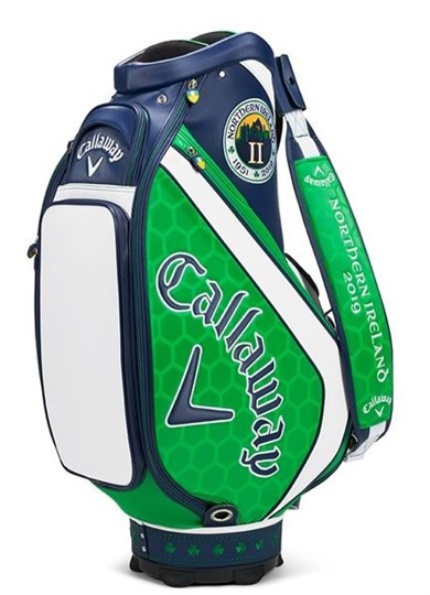 Callaway The Open Major July Staff bag 2019 + 3 headcovers