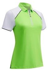 Callaway 1/4 Zip Colour Block Damen Poloshirt