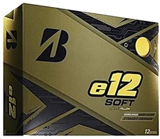 Bridgestone e12 Soft Matte Yellow Golfbälle