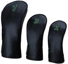 Big Max Headcover Set 1-3-X, schwarz/lime