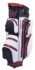BagBoy Techno Water Cartbag, weiss/schwarz/rot