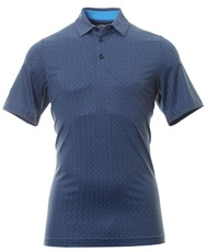 Callaway All Over Chev Print Herren Poloshirt, peacoat