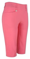 "Callaway Chev Pull On City II 24"" Damen Shorts, camella rose"