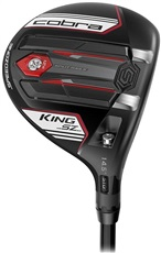 Cobra King SpeedZone Schwarz/Wiess Herren Fairwayholz