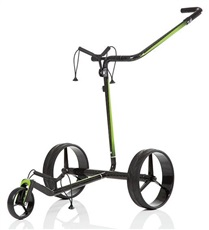 JuCad Carbon Travel 2.0 Elektrotrolley, schwarz/grün