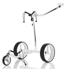 JuCad Carbon Travel 2.0 Elektrotrolley, weiss/schwarz