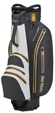 Bennington Dry 14+1 Go Waterproof Cartbag, schwarz/weiss/gold