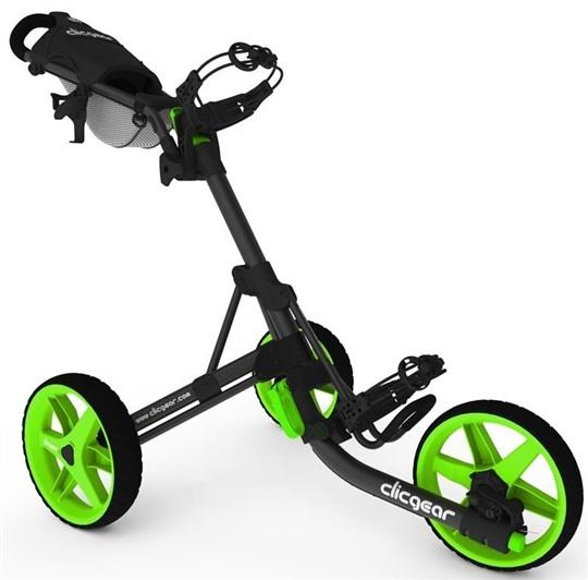Clicgear 3 5 Golf Trolley Schwarz Gr 252 N Golfbrothers De