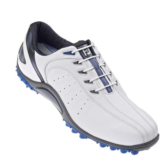 das beste Original wählen schön in der Farbe FootJoy FJ Sport Golfschuhe ohne Spikes - weiss/blau