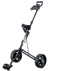 Big Max Stow a Mini 2-Rad Golftrolley - schwarz