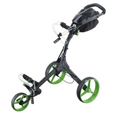 Big Max IQ+ Golftrolley, schwarz/limette