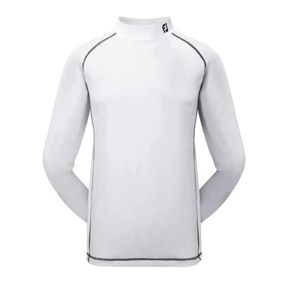 FootJoy Performance ProDry Herren Thermoshirt, weiss