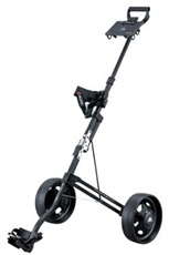 Big Max Stow a Cart 2-Rad Golftrolley - schwarz