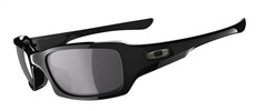 Oakley Fives Squared Sonnenbrille, Polished Black/Grey