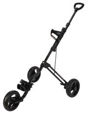 Big Max Junior 3W 3-Rad Golf Trolley - schwarz