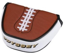 Odyssey Football Mallet Headcover/Puttercover