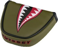 Odyssey Fighter Plane Mallet Headcover/Puttercover