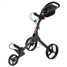 Big Max IQ+ Dreirad Golf Trolley, schwarz