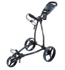 Big Max Blade+ Dreirad Golf Trolley, schwarz