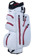 Big Max Aqua I-Dry M Cart Bag, weiss/rot