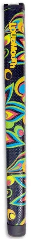 LoudMouth Black Shagadelic Jumbo Putter Griff
