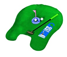 Potty Putter Golf Trainer