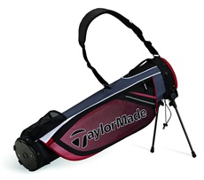 TaylorMade Quiver ST Pencil Bag, grau/rot
