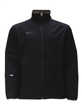 2117 of Sweden Saxnas Junior Softshell Jacke, schwarz