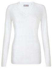 Callaway Argyle Cotton Damen Pullover, weiss