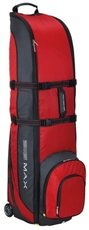 Big Max Wheeler 3 Travel Cover, schwarz/rot