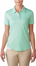 Adidas Essentials 3-Stripe Damen Golf Polo, mint