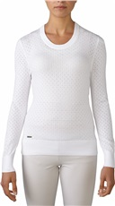 Adidas Essentials Crew Damen Pullover - weiss