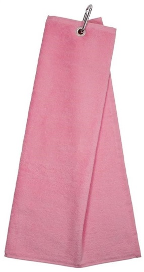 Longridge Trifold Handtuch Rosa Golfbrothersde