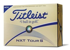 Titleist NXT Tour S Yellow Golfbälle