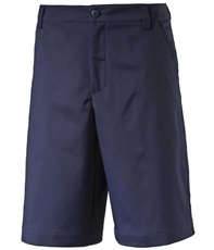 Puma Golf Tech Junior Golf Shorts, blau