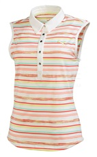 Puma Golf SL Spaca Stripe Damen Poloshirt