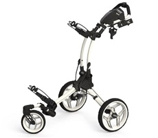 Clicgear Rovic RV1S Swivel Golf Trolley, weiss