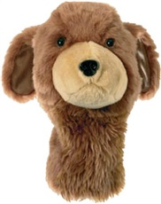 Headcover golden retriver