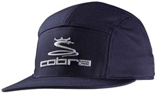Cobra Tour 5 Panel Golf Cap, blau