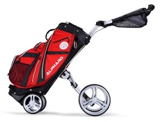 Alphard Duo Cart Deluxe, rot