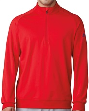 Adidas Golf Club Herren Sweatshirt, rot