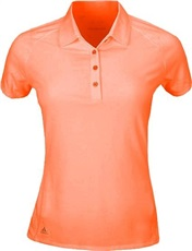 Adidas Core Hybrid Cotton Damen Golf Polo, orange