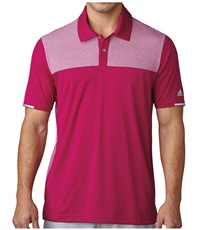 Adidas Climachill Heather Block Competition Herren Poloshirt, lila