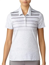 Adidas Merch Damen Poloshirt, grau