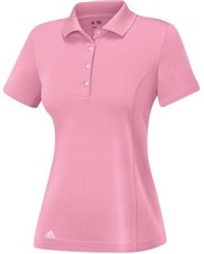 Adidas Essentials Cotton Damen Poloshirt, rosa
